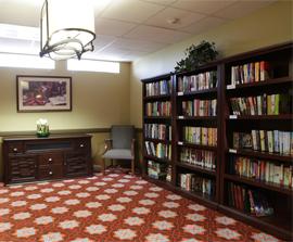 Royal Estates of Abilene, TX - Library