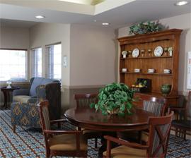 Royal Estates of Abilene, TX - Sitting Area