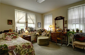 Saint Francis Residential Community - Denville, NJ - Apartment Bedroom