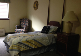 Scranton Manor Personal Care Center, PA - Bedroom