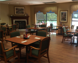 Scranton Manor Personal Care Center, PA - Dining Room
