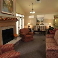 Senior Star at Elmore Place - Davenport, IA - Fireplace Lounge