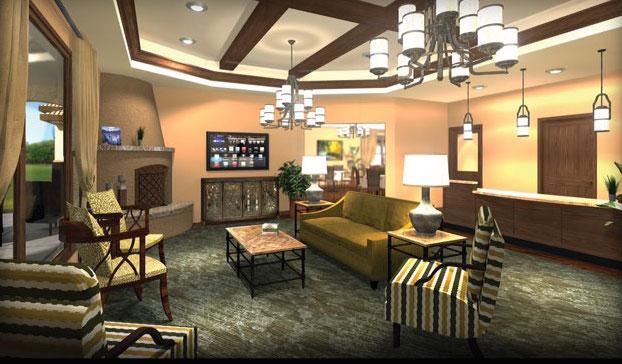 Shavano Park Senior Living - Shavano Park, TX - Lounge