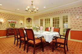 Spring Meadows at Trumbull, CT - Private Dining Area