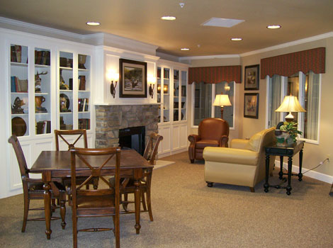 Sugar Creek Alzheimer's Special Care Center - Normal, IL - Gathering Area