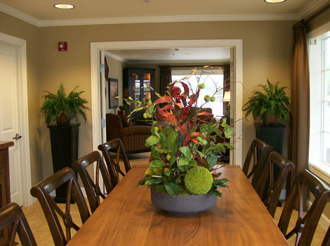 Sugar Creek Alzheimer's Special Care Center - Normal, IL - Private Dining Room