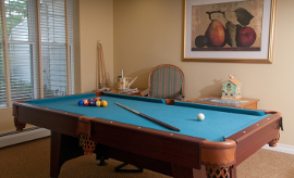 The Birches at Concord, NH - Pool Table