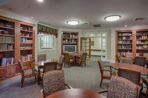 The Brennity at Fairhope, AL - Library