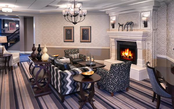 The Bristal at Armonk, NY - Fireplace Lounge
