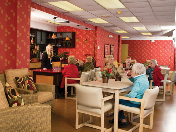 The Bristal Assisted Living at Lynbrook, NY - Bistro