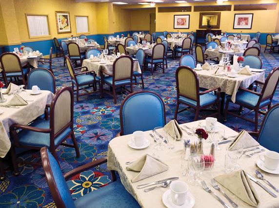 The Bristal Assisted Living at Lynbrook, NY - Dining Room