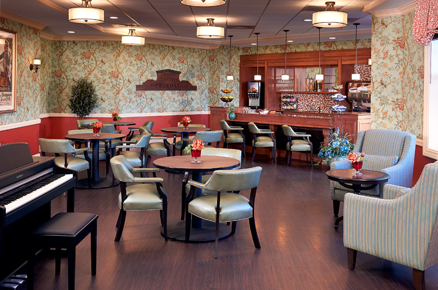 The Bristal Assisted Living at Woodcliff Lake, NJ - Bistro