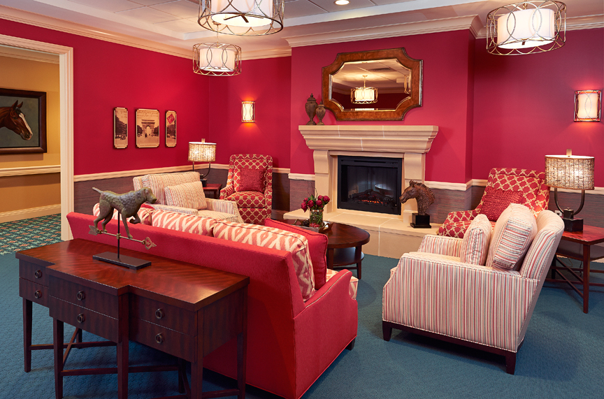 The Bristal Assisted Living at Woodcliff Lake, NJ - Lounge