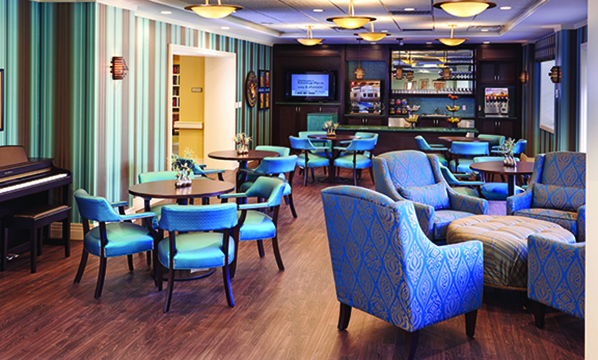 The Bristal at White Plains, NY - TV Lounge