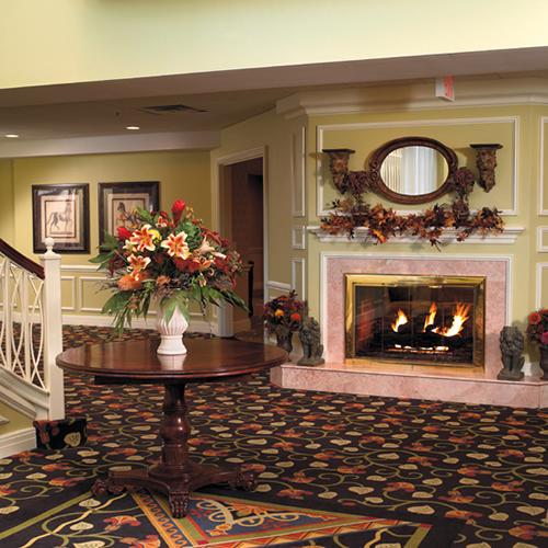 The Bristal at Westbury, NY - Fireplace Lounge