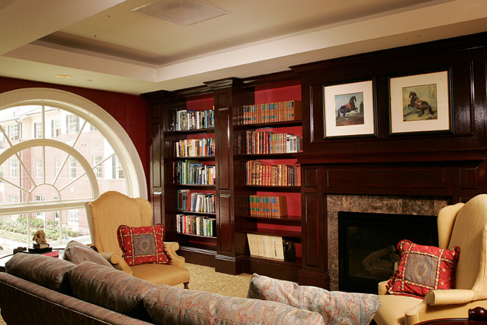The Buckingham - Houston, TX - Library