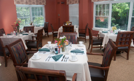 The Fall at Cordingly Dam - Newton, MA - Dining Room