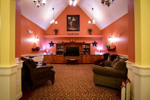 The Gables of Blackfoot, ID - TV Lounge