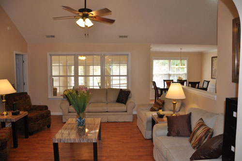The Haven at Wyckford - Raleigh, NC - Living Room