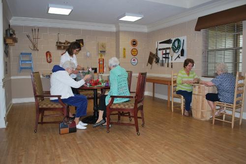 The Lantern at Morning Pointe of Lenoir City, TN - Activity Room