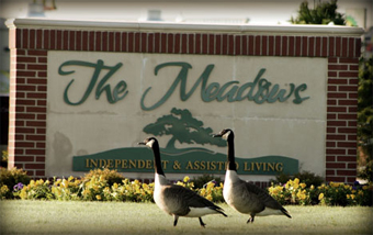 The Meadows Independent & Assisted Living Community - Bentonville, AR - Sign
