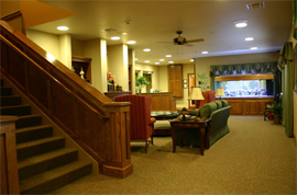 The Meadows Independent & Assisted Living Community - Bentonville, AR - Lobby