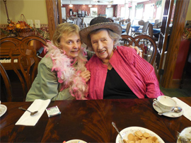 The Meadows Independent & Assisted Living Community - Bentonville, AR - Residents at party