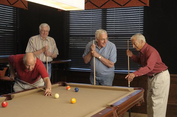 The Regent - Wichita, KS - Pool Table