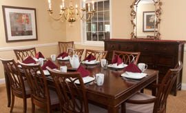 The Village at Kensington Place - Meriden, CT - Private Dining Room