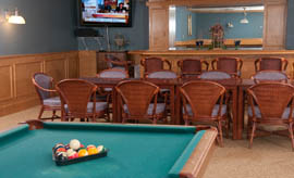 The Village at South Farms - Middletown, CT - Billiards Room