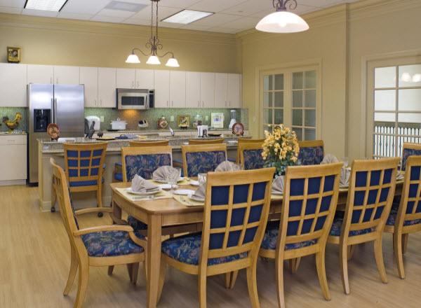 The Windsor of Cape Coral - Cape Coral, FL - Community Kitchen