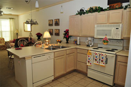 The Hamptons - Tyler, TX - Apartment Kitchen