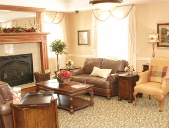 The Hearth at Tudor Gardens - Zionsville, IN - Living Room