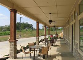 The Lodge - Mount Pleasant, TX - Courtyard