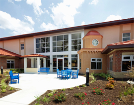 The Memory Center Richmond - Midlothian, VA - Courtyard