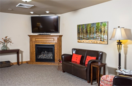 The Waterford at West Bend, WI - TV Room