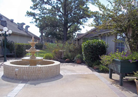 Tomball Retirement Center, TX - Courtyard
