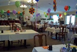 Tomball Retirement Center, TX - Dining Room