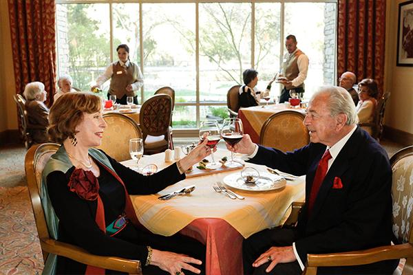Vi at Palo Alto, CA - Dining Room