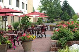 Wesley Enhanced Living at Doylestown, PA - Courtyard