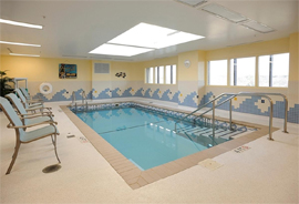 Wesley Enhanced Living at Doylestown, PA - Therapeutic Pool
