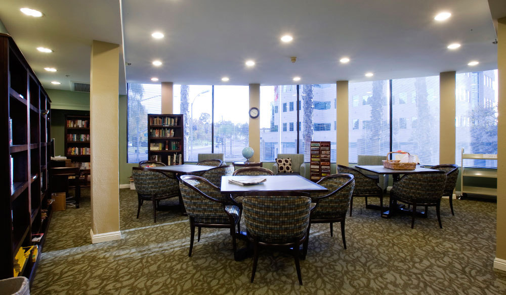Westmont Town Court - Escondido, CA - Library