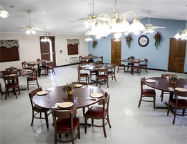 Willow Place - Laurinburg, NC - Dining Room