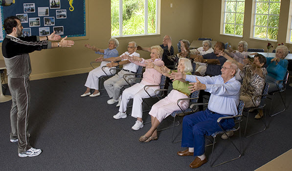 The Windsor of Lawrence, KS - Exercise Class
