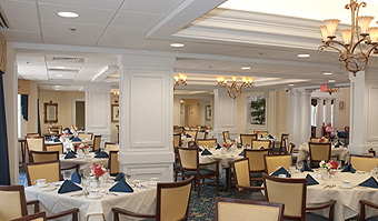 Windsor Place of Wilmington, MA - Dining Room