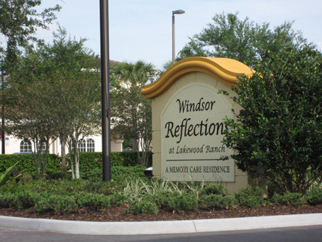 Windsor Reflections Memory Care - Lakewood Ranch, FL - Exterior