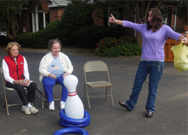 Windsor House Assisted Living and Memory Care - Spartanburg, SC - Resident playing games