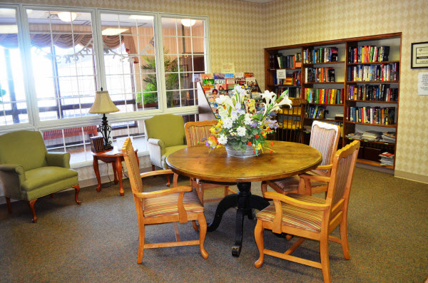 Zionsville Meadows, IN - Library
